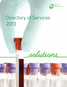 Directory Of Services 2013