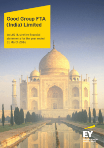 Ind-AS Illustrative financial statements for the year ended 31 March