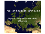 The Peninsula of Peninsulas