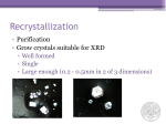 Crystallization Guide