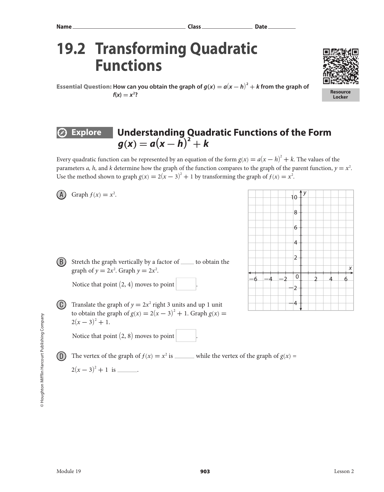 Worksheet Practice PACKET additionally Scaling and translating quadratic functions additionally 8 3 Worksheet  transformations of quadratic functions   YouTube likewise Online Graphs 2018 » quadratic graphs worksheet   Online Graphs as well Transformations of Quadratics and Absolute Value Function also Transformation Of Quadratic Function Worksheets  Transformations Of additionally  as well Alge 1 Worksheets   Quadratic Functions Worksheets additionally Write the quadratic function    Clroom   Algebra  Math games together with Transformations Worksheets   Ivoiregion moreover quadratic functions worksheet – propertyrout in addition Transformations on Quadratic Functions Practice by Morgan Sargent besides  besides 19 2 Transforming Quadratic Functions together with  as well . on transformations of quadratic functions worksheet