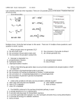 Exam 4, 2015 - Biochemistry at CSU, Stanislaus