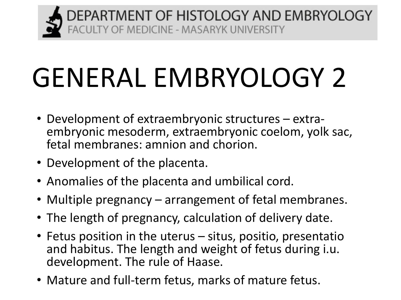 development of fetal membranes