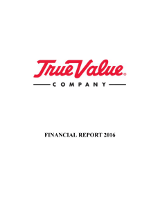 View the 2016 Financial Report