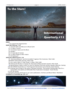 Issue #15 - 2016 April - National Space Society