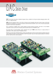 GAC is the name of a series of bipolar chopper drives, suitable for