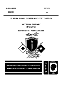 Antenna Theory - The Free Information Society