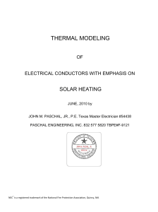 thermal modeling - Copper Development Association Inc.
