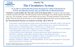 The Circulatory System - California Health Information Association