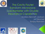 Fourier Transform Microwave Spectrometer with Double Resonance