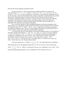 29A.1 Deriving AD from the AE model