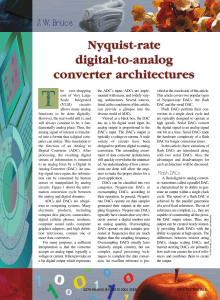 Nyquist-rate digital-to-analog converter
