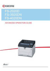 Operation Guide (ENG) Advance - KYOCERA Document Solutions