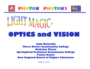 Light Magic – Optics and Vision - New England Board of Higher