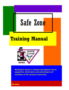 Training Manual - SDSU NewsCenter