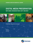 digital media preservation - Mapping Global Media Policy
