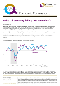 Is the US economy falling into recession?