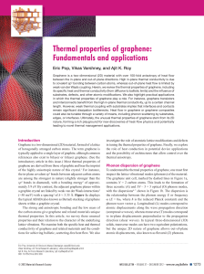 Thermal properties of graphene: Fundamentals and