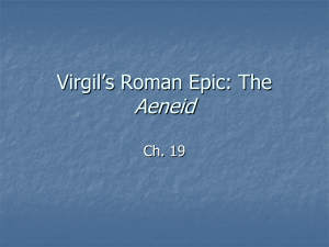 Virgil`s Roman Epic: The Aeneid