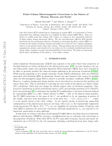 Finite-Volume Electromagnetic Corrections to the Masses of Mesons