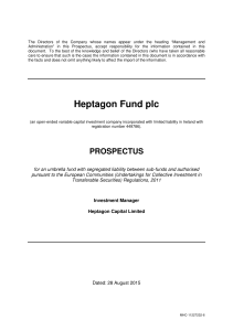 Heptagon Fund plc