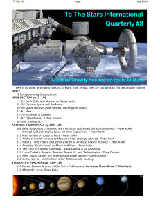 Issue #8 - 2014 July - National Space Society