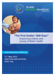 The Golden First 1000 days - Nestlé Nutrition Institute