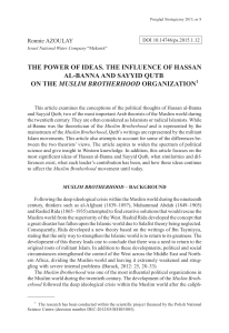 THE POWER OF IDEAS. THE INFLUENCE OF HASSAN AL