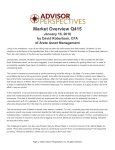 Market Overview Q415 - Advisor Perspectives