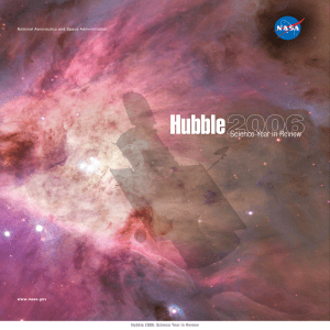 Hubble 2006: Science Year in Review