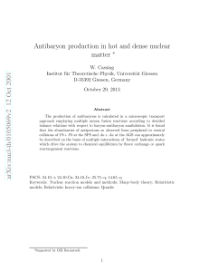 Antibaryon production in hot and dense nuclear matter