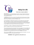 Why We Relay Overnight