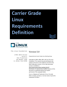 CGL Requirements Definition V5.0