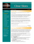 December 2007 Clear Skies Newsletter PDF