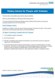 Dietary Advice for People with Diabetes a4