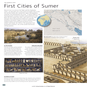 First Cities of Sumer