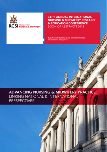 Book of Abstracts - Royal College of Surgeons in Ireland