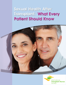 Sexual Health After Transplant: What Every Patient Should