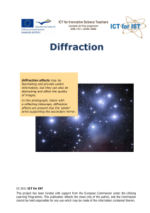 Diffraction - ICT for IST