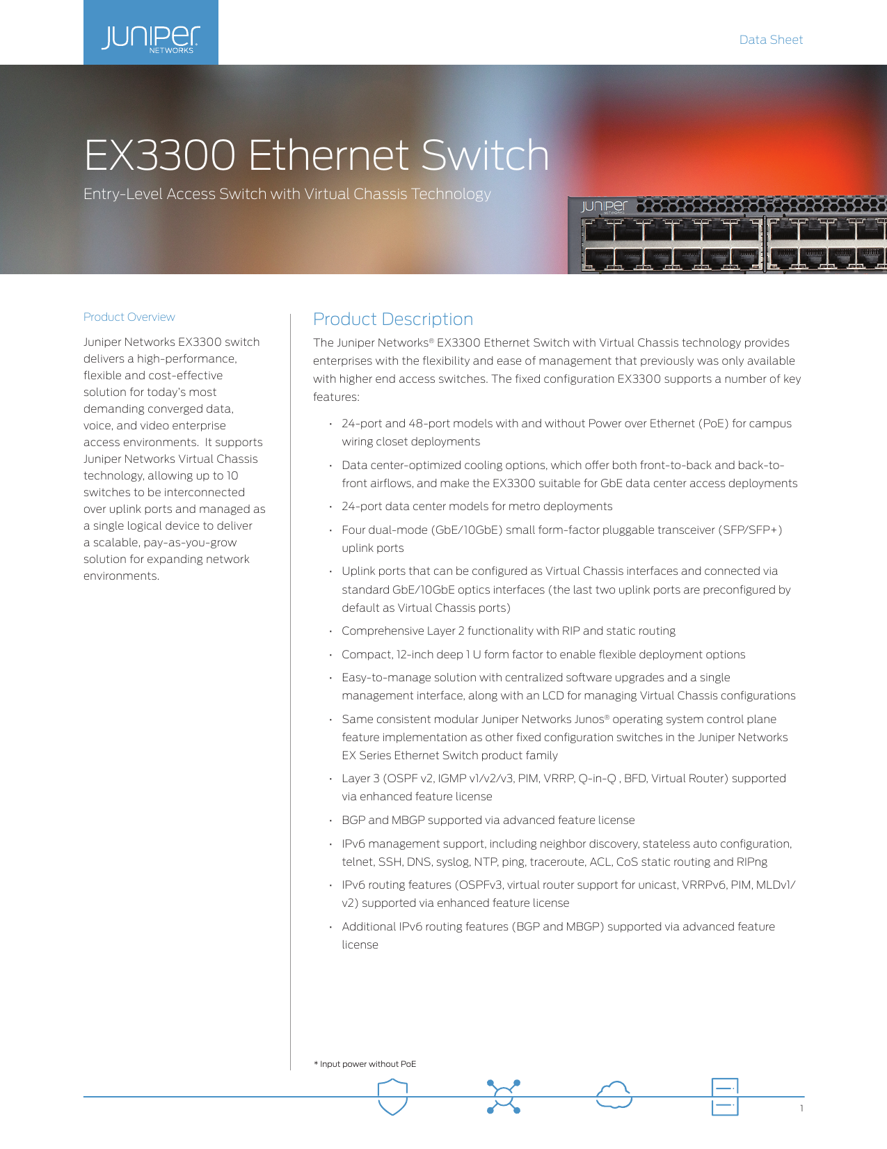 EX3300 Ethernet Switch