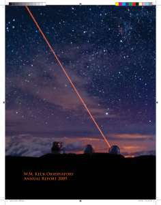 W.M. Keck Observatory Annual Report 2009