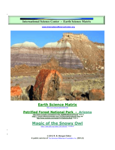 Earth Science - International Science Center
