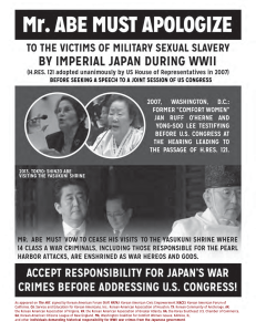 Time for Japan to apologize