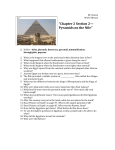"""Chapter 2 Section 2— Pyramids on the Nile"""