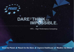 Dare To Think The Impossible brochure