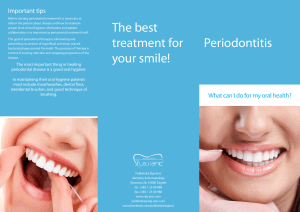 Periodontitis The best treatment for your smile! - Polyclinic Šlaj-Anić