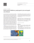 Proton pump inhibitors, purple gastric juice and peptic ulcer