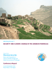 Security and Climate Change in the Arabian Peninsula