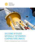 decoding intended nationally determined contributions (indcs)