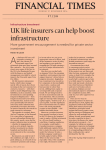 UK life insurers can help boost infrastructure